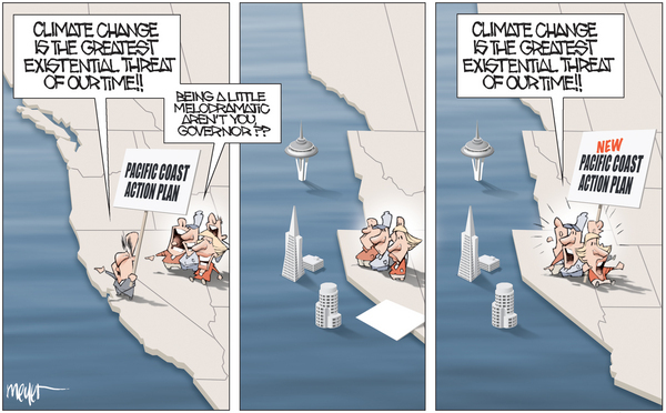 : California cartoons : Meyer Cartoons
